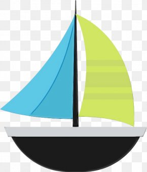 Logo Sailing Ship - Ship Cartoon PNG