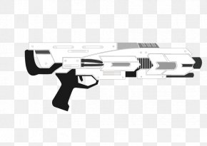 Vector Machine Guns - Trigger Machine Gun Weapon Firearm PNG
