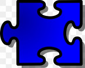 Large Puzzle Piece Template - Jigsaw Puzzle Free Content Clip Art PNG