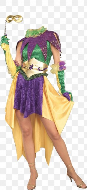 Mardi Gras - Mardi Gras In New Orleans Costume Party Dress PNG