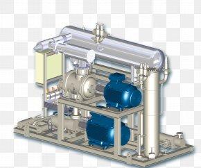 Refrigeration Machine Compressor Separator Pump PNG