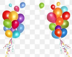 Balon - Birthday Cake Party Balloon Clip Art PNG