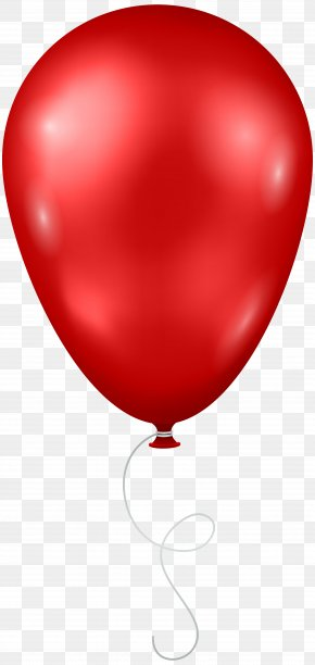 Red Balloon Transparent Clip Art Image - Image File Formats Lossless Compression PNG