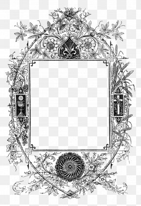 Design - Picture Frames Work Of Art Pattern PNG