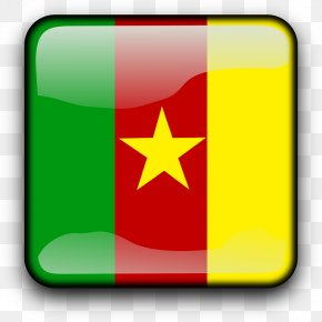Cameroon Flag Free Image - Yellow Flag Font PNG