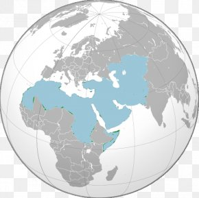 Middle East Map - Middle East North Africa MENA Globe First World War PNG