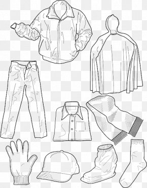 Kids Clothes - Colouring Pages Coloring Book Winter Clothing Children's Clothing PNG