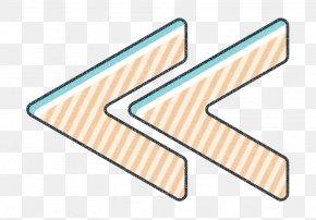 Repeat Icon Blue Icon - Arrow Icon Back Icon Backwards Icon PNG