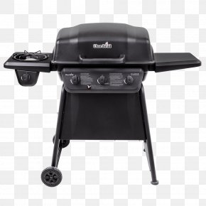 Gas Grills With Side Griddle - Barbecue Char-Broil Classic Series Grilling Gasgrill PNG