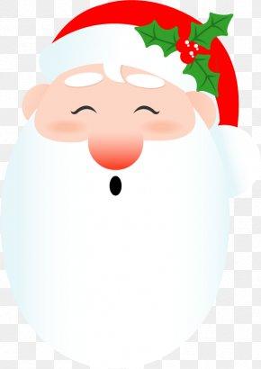 Vector Cartoon Santa Claus - Santa Claus Christmas Ornament Clip Art PNG