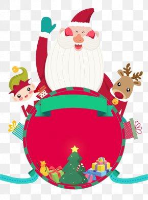 Santa Claus - Santa Claus Christmas Ornament Reindeer Clip Art PNG