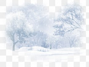 Aesthetic Snow - Wallpaper PNG