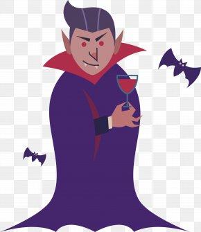 Vampire Who Drinks Blood - Vampire Illustration PNG