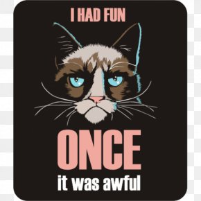 Cat - Whiskers Cat Coque Huawei P10 Grumpy I Had Fun Once Samsung Galaxy J5 (2016) PNG