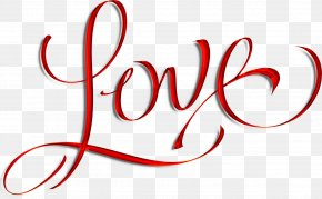 I Love You - Calligraphy Love Lettering Royalty-free PNG