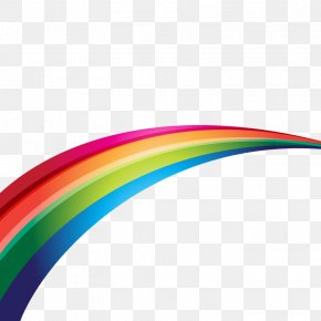 Rainbow Extending - Rainbow Light PNG