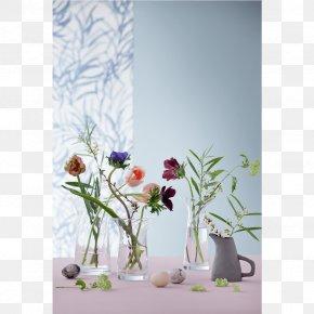 Vase - Floral Design Vase ローゼンダール Glass Copenhagen PNG