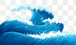 Wave - Wind Wave Ocean Dispersion Clip Art PNG