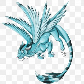 Dragon - Dragon Drawing Legendary Creature Winter PNG