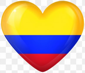 Heart Flag Cliparts - Flag Of Colombia United States Flag Of Colombia Gallery Of Sovereign State Flags PNG