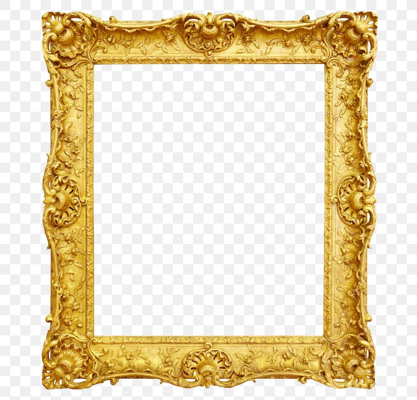Picture Frame Antique Gold, PNG, 700x787px, Picture Frames, Antique, Decorative Arts, Gold, Interior Design Services Download Free