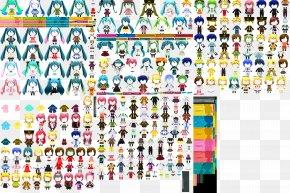 Hatsune Miku - Hatsune Miku: Project Mirai DX Hatsune Miku And Future Stars: Project Mirai Hatsune Miku: Project DIVA Arcade Sprite PNG