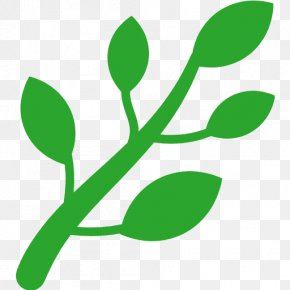 Herb - Emoji Herb Symbol Text Messaging Clip Art PNG