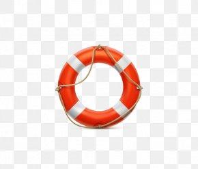 Orange Life Buoy - Lifebuoy Life Savers Symbol Icon PNG