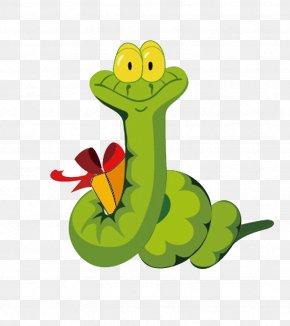 Creative Snake - Mashimaro Snake Cartoon Chinese Zodiac PNG