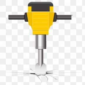 Core Drill Tool Accessory - Hammer Cartoon PNG