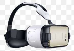 Samsung - Samsung Galaxy S6 Samsung Gear VR Virtual Reality Headset PNG