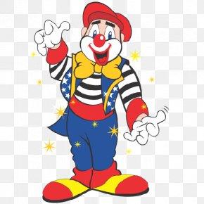 Carnival Theme - Clown Circus Clip Art PNG