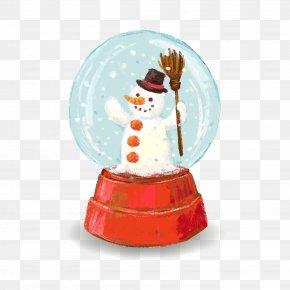 Vector Christmas Crystal Ball - Crystal Ball Christmas Euclidean Vector PNG