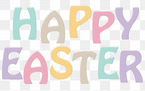 Text - Easter Bunny Happiness Resurrection Of Jesus PNG