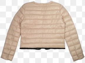 Padded - Outerwear Jacket Sweater Fur Sleeve PNG