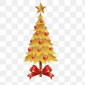 Christmas Tree Results - Wedding Invitation Christmas Tree New Year Clip Art PNG