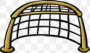 Hockey - Ice Hockey Goal Net Clip Art PNG