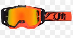 GOGGLES - Glasses Iris Goggles Red PNG