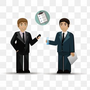 Vector Pattern Material Looking For Partner Businessman - Business Teamwork PNG