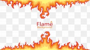 Burning Flame Borders - Flame Combustion Fire Euclidean Vector PNG