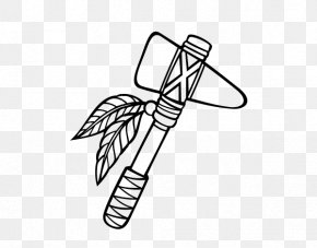Ax Drawing Tomahawk Sticker - American Indian Tomahawks Coloring Book Drawing Clip Art PNG