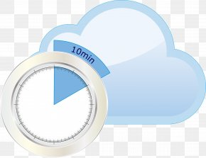 Vector Cloud Service Icon - Cloud Computing Icon PNG