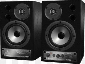 Audio Speakers - Digital Audio Studio Monitor Loudspeaker Powered Speakers Public Address System PNG