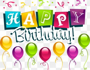 Happy Birthday Beautiful WordArt - Happy Birthday To You Party PNG