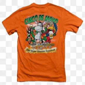 Cinco De Mayo - T-shirt Blouse Mexican Cuisine Hat PNG