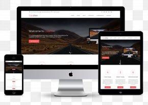 Web Design - Responsive Web Design Page Layout PNG