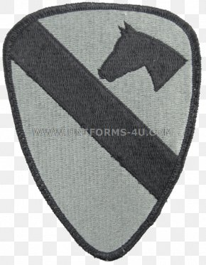United States - United States Army 1st Cavalry Division Shoulder Sleeve Insignia PNG