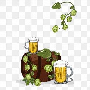Oktoberfest Creative - Beer Wine Bistro Barrel PNG