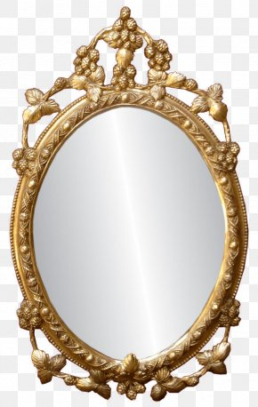 Oval - Light Mirror Clip Art PNG