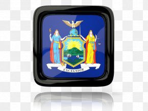 New York Icons - New York City Coat Of Arms Of New York State Flag Governor Of New York PNG